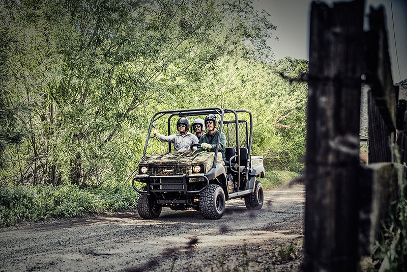 2019 Kawasaki Mule 4010 Trans4x4 Camo in Frontenac, Kansas - Photo 4