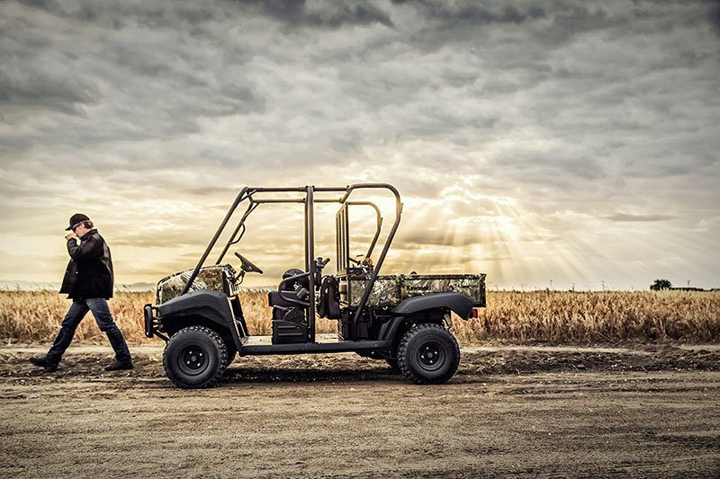 2019 Kawasaki Mule 4010 Trans4x4 Camo in San Jose, California - Photo 5