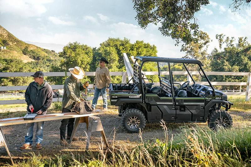 2019 Kawasaki Mule PRO-FXT EPS LE in Chanute, Kansas - Photo 4