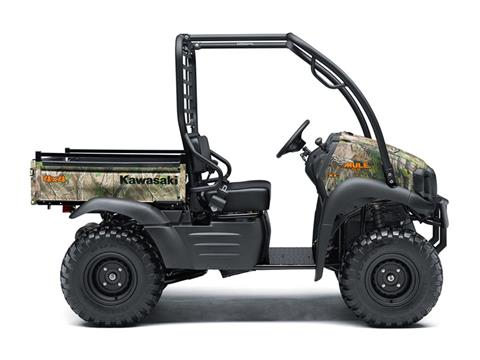 2019 Kawasaki Mule SX 4X4 XC Camo in Asheville, North Carolina