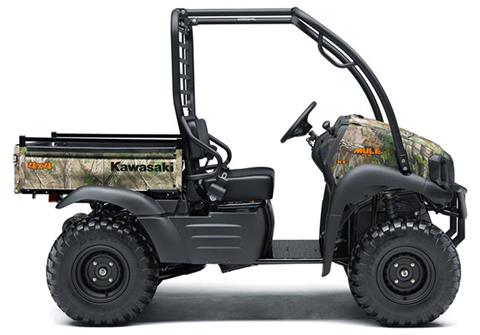 2019 Kawasaki Mule SX 4X4 XC Camo in Iowa City, Iowa