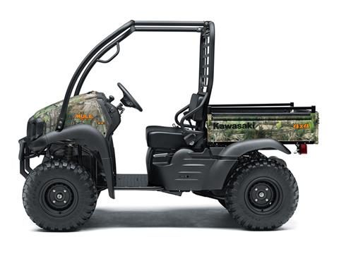 2019 Kawasaki Mule SX 4X4 XC Camo in Fremont, California - Photo 2