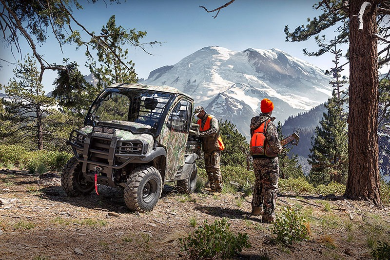 2019 Kawasaki Mule SX 4X4 XC Camo in Port Angeles, Washington - Photo 4