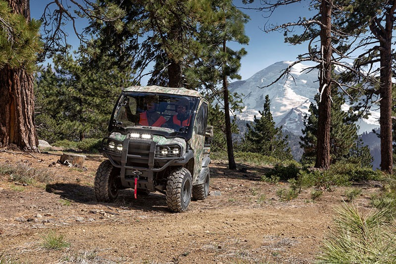 2019 Kawasaki Mule SX 4X4 XC Camo in Eureka, California - Photo 5
