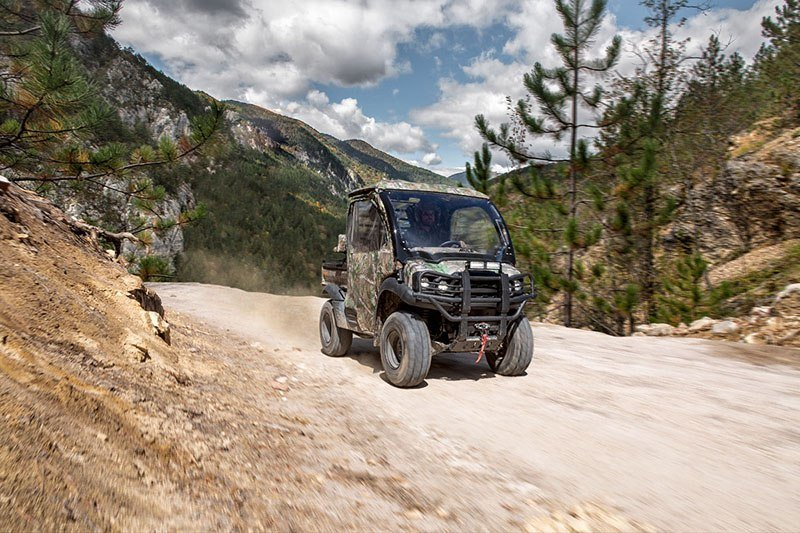 2019 Kawasaki Mule SX 4X4 XC Camo in Baldwin, Michigan