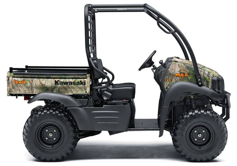 2019 Kawasaki Mule SX 4X4 XC Camo in Freeport, Illinois