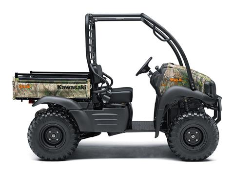 2019 Kawasaki Mule SX 4X4 XC Camo FI in Freeport, Illinois