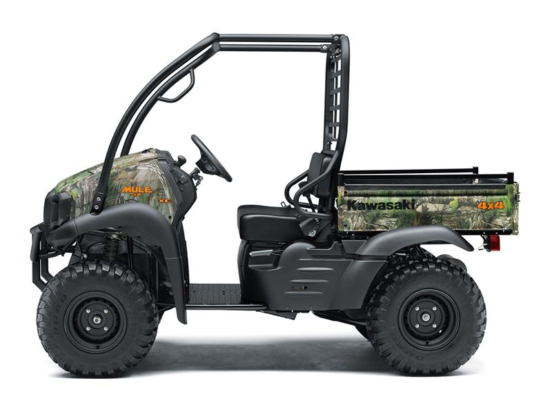2019 Kawasaki Mule SX 4X4 XC Camo FI in Warsaw, Indiana - Photo 2