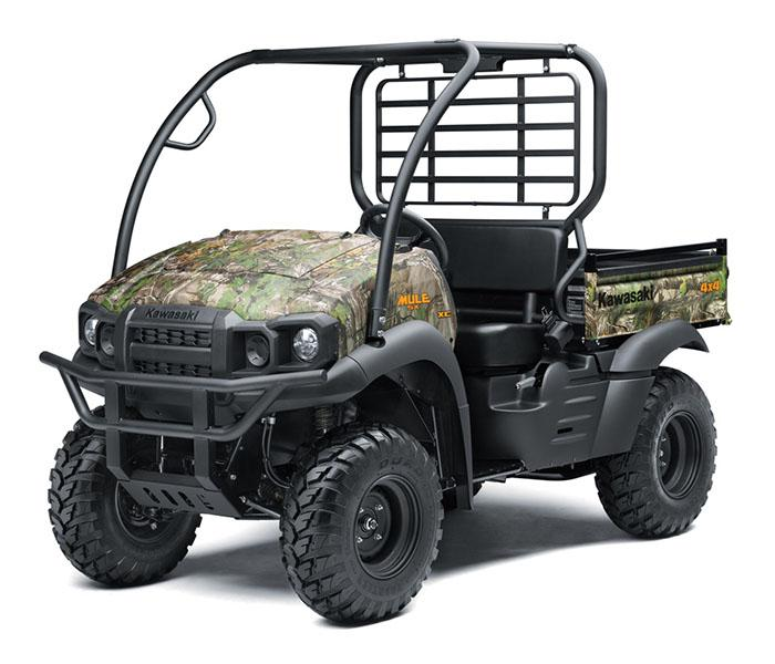 2019 Kawasaki Mule SX 4X4 XC Camo FI in Sacramento, California - Photo 3