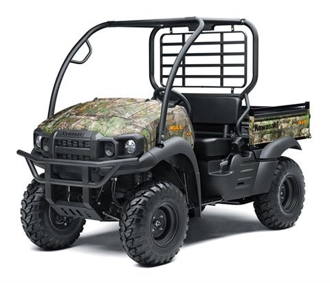 2019 Kawasaki Mule SX 4X4 XC Camo FI in Oak Creek, Wisconsin