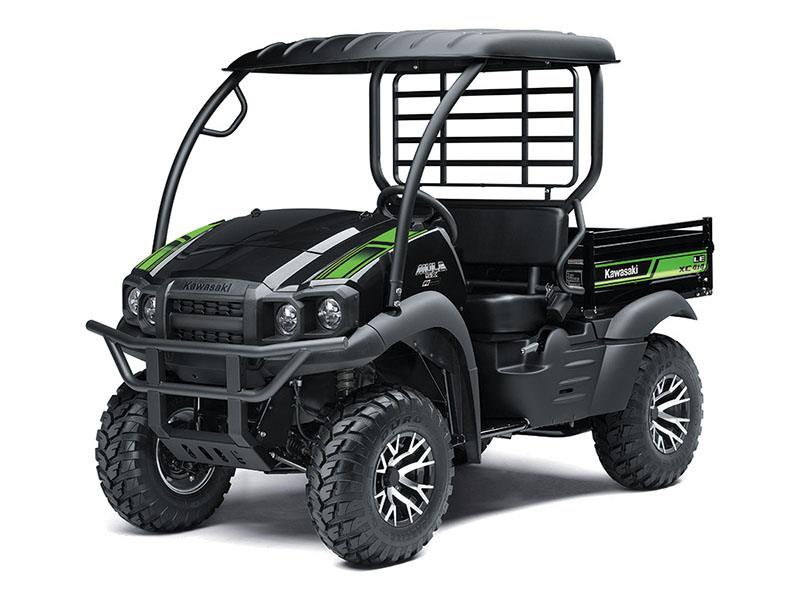 2019 Kawasaki Mule SX 4x4 XC LE in Wasilla, Alaska - Photo 3