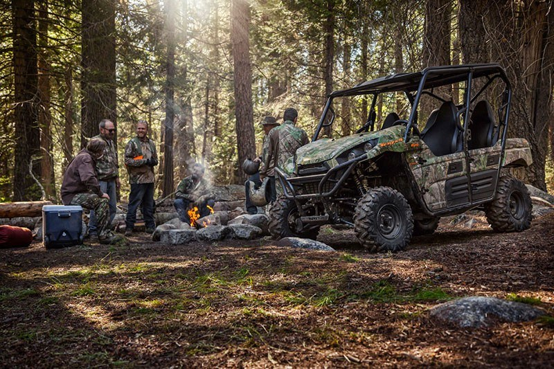 2019 Kawasaki Teryx4 Camo in South Paris, Maine - Photo 7
