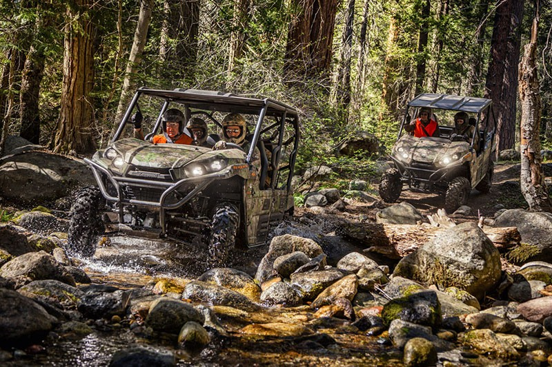 2019 Kawasaki Teryx4 Camo in Danville, West Virginia - Photo 4