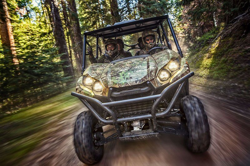2019 Kawasaki Teryx4 Camo in South Paris, Maine - Photo 10