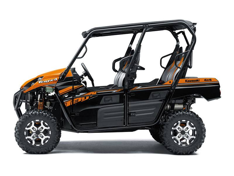 2019 Kawasaki Teryx4 LE in Johnson City, Tennessee