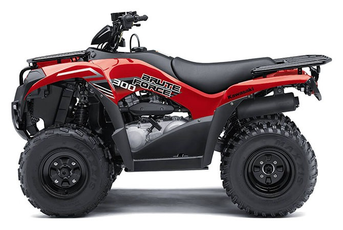 2020 Kawasaki Brute Force 300 in Mount Pleasant, Michigan - Photo 2
