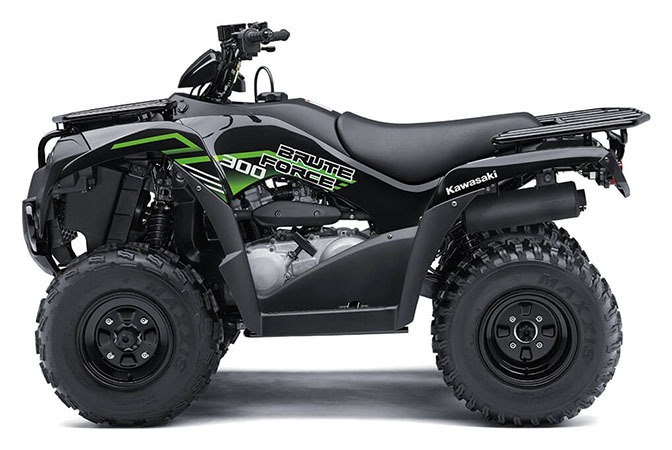 2020 Kawasaki Brute Force 300 in Plymouth, Massachusetts - Photo 2
