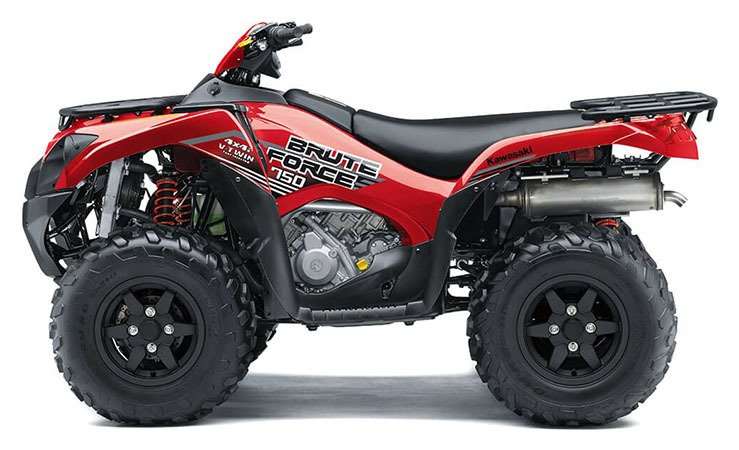 2020 Kawasaki Brute Force 750 4x4i in Mount Pleasant, Michigan - Photo 2