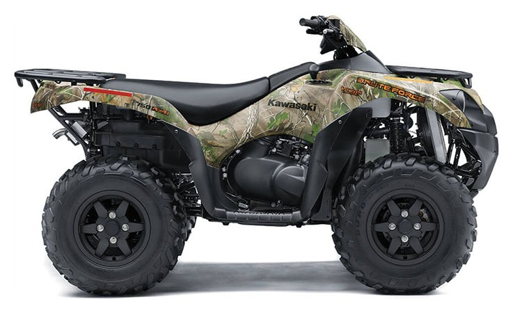 2020 Kawasaki Brute Force 750 4x4i EPS Camo in Dubuque, Iowa