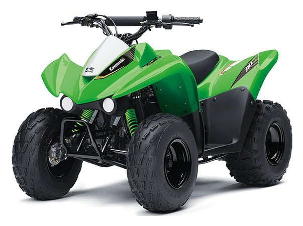2020 Kawasaki KFX 90 in Woodstock, Illinois - Photo 3