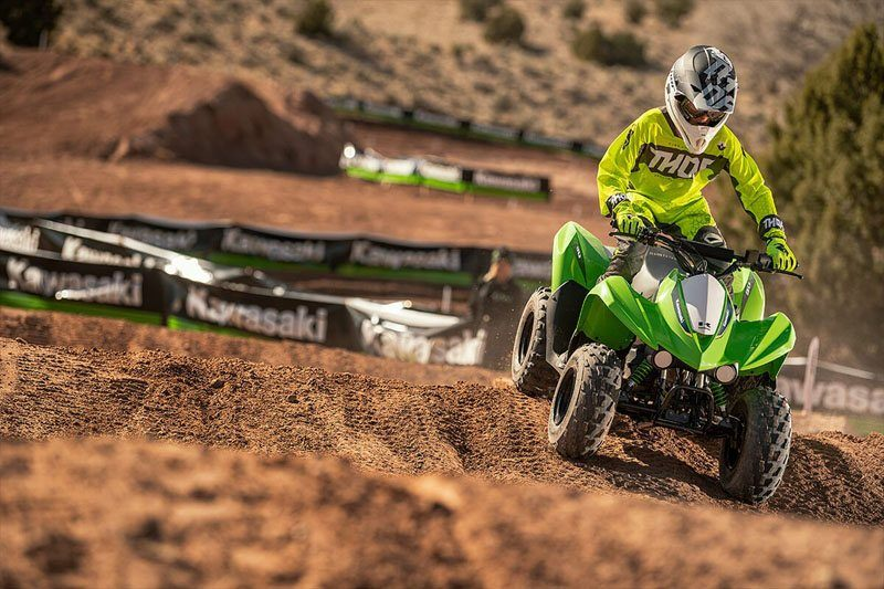 2020 Kawasaki KFX 90 in Sacramento, California - Photo 8