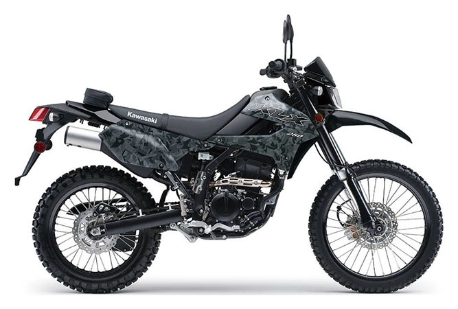 2020 Kawasaki KLX 250 Camo in Greenville, North Carolina - Photo 1