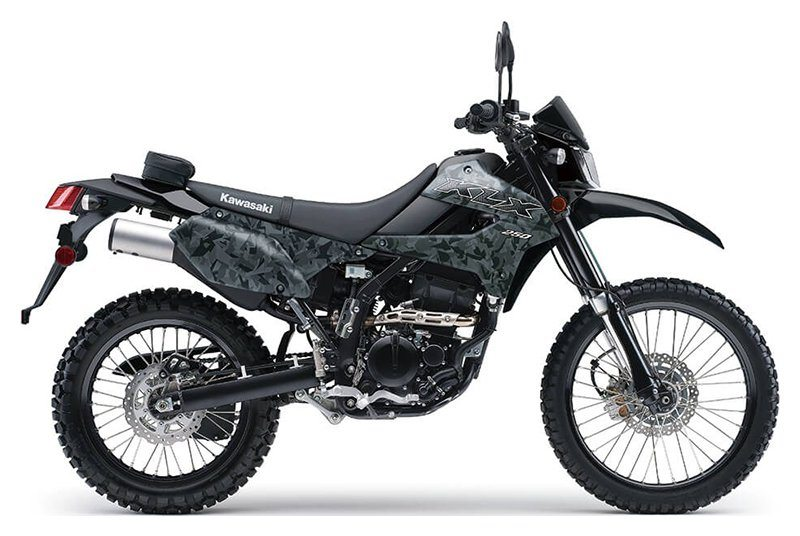 2020 Kawasaki KLX 250 Camo in Redding, California - Photo 1