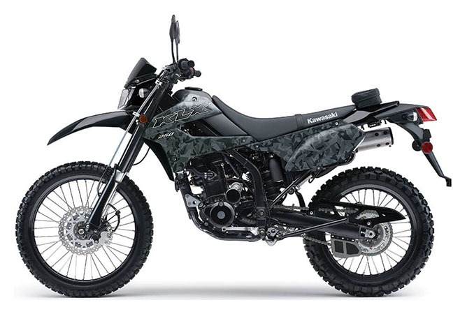 2020 Kawasaki KLX 250 Camo in Waterbury, Connecticut - Photo 2