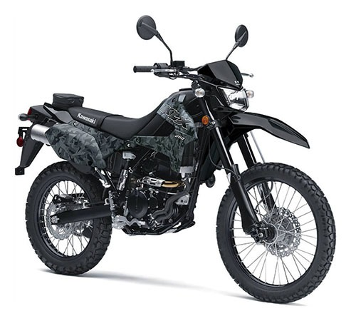 2020 Kawasaki KLX 250 Camo in Waterbury, Connecticut - Photo 3