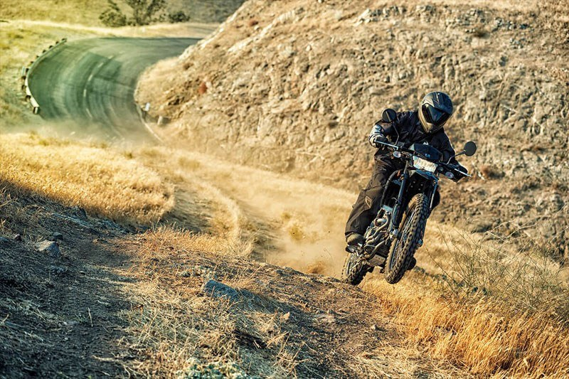 2020 Kawasaki KLX 250 Camo in San Francisco, California - Photo 8