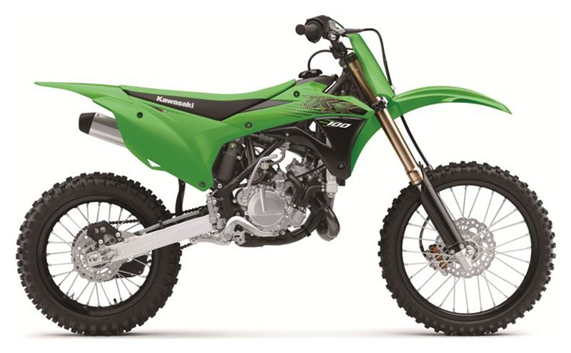 2020 Kawasaki KX 100 in South Paris, Maine - Photo 1