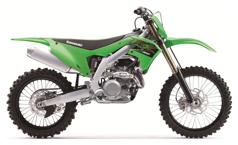 2020 Kawasaki KX 450 in Mount Pleasant, Michigan - Photo 1
