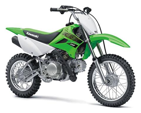 2020 Kawasaki KLX 110 in Oak Creek, Wisconsin - Photo 3