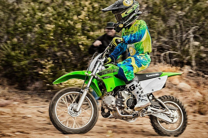 2020 Kawasaki KLX 110 in North Reading, Massachusetts - Photo 4
