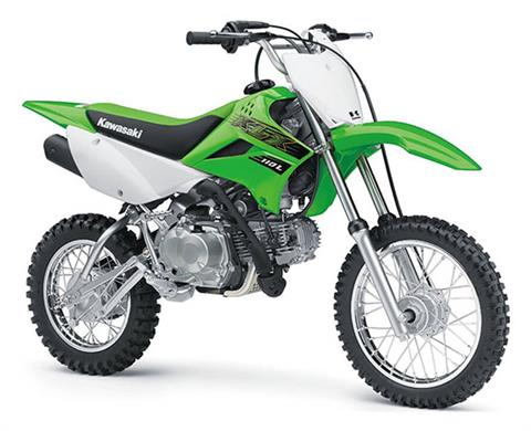 2020 Kawasaki KLX 110L in South Paris, Maine - Photo 3
