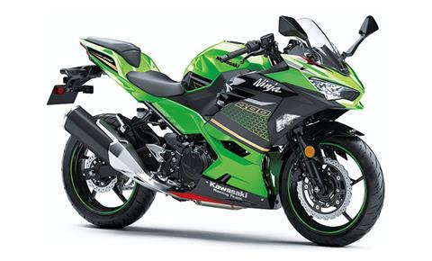 2020 Kawasaki Ninja 400 ABS KRT Edition in Cambridge, Ohio - Photo 3