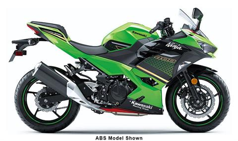 2020 Kawasaki Ninja 400 KRT Edition in Iowa City, Iowa