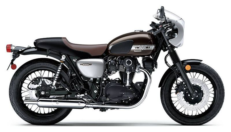 2020 Kawasaki W800 Cafe in Bellingham, Washington - Photo 1