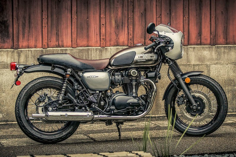 2020 Kawasaki W800 Cafe in Asheville, North Carolina - Photo 5
