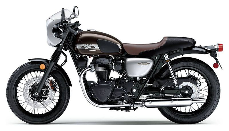 2020 Kawasaki W800 Cafe in Everett, Pennsylvania - Photo 2