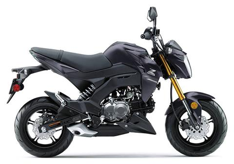 2020 Kawasaki Z125 Pro in Greenville, North Carolina