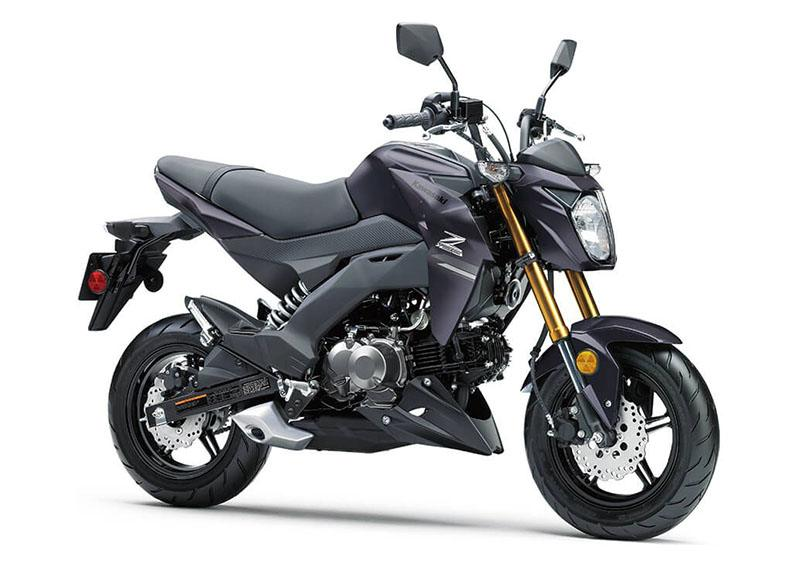 2020 Kawasaki Z125 Pro in Norfolk, Virginia - Photo 3