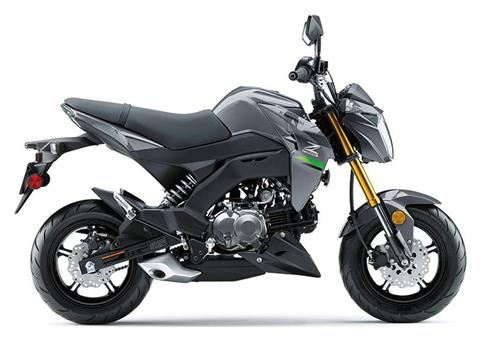 2020 Kawasaki Z125 Pro in South Paris, Maine - Photo 1