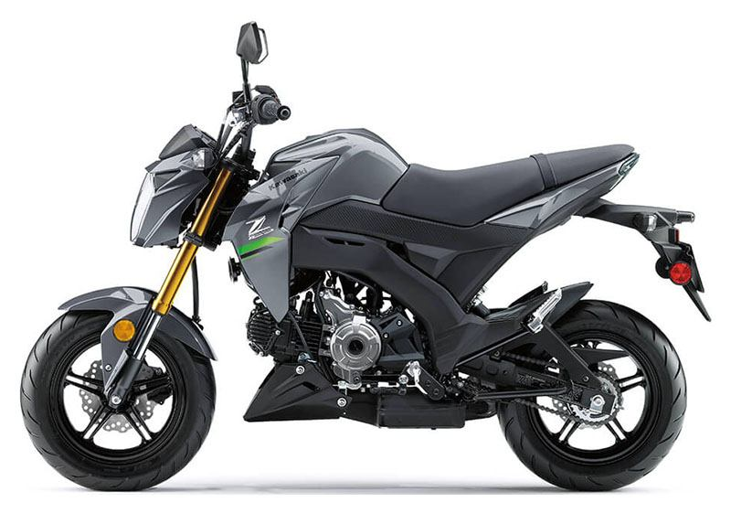 2020 Kawasaki Z125 Pro in Cambridge, Ohio - Photo 2