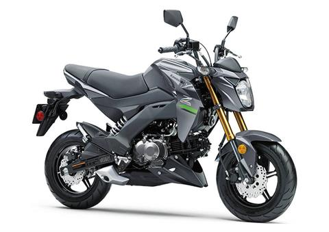 2020 Kawasaki Z125 Pro in South Paris, Maine - Photo 3