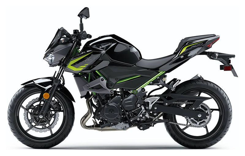 2020 Kawasaki Z400 ABS in Chanute, Kansas - Photo 2