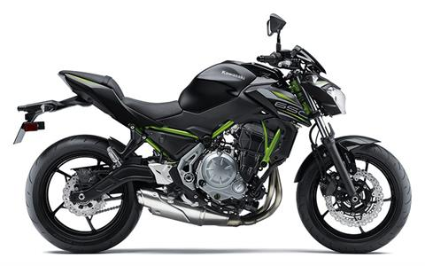 2019 Kawasaki Z650 ABS in Barre, Massachusetts