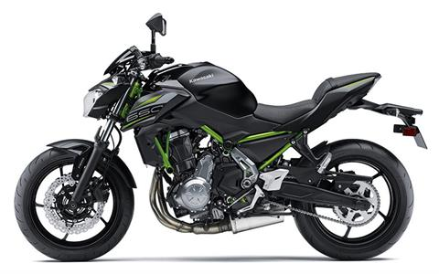 2019 Kawasaki Z650 ABS in Iowa City, Iowa