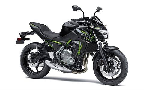2019 Kawasaki Z650 ABS in Northampton, Massachusetts