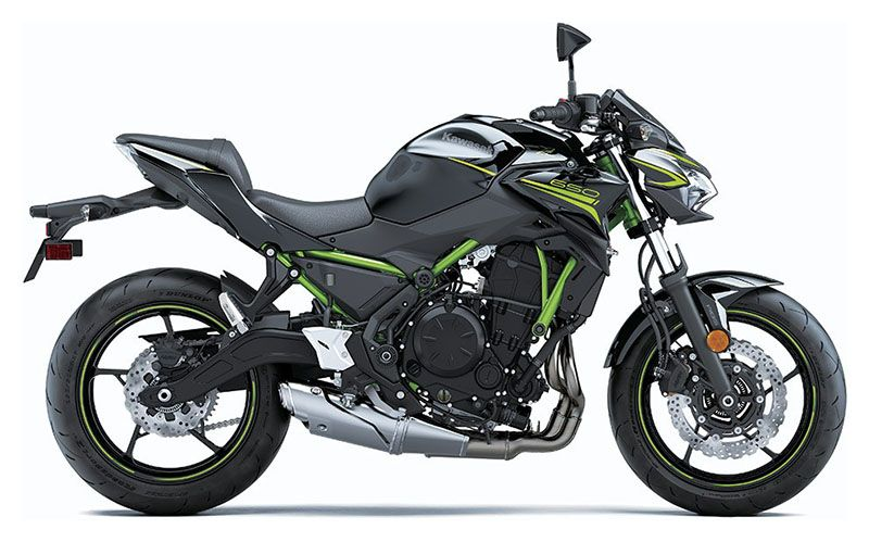 2020 Kawasaki Z650 ABS in Chanute, Kansas - Photo 1